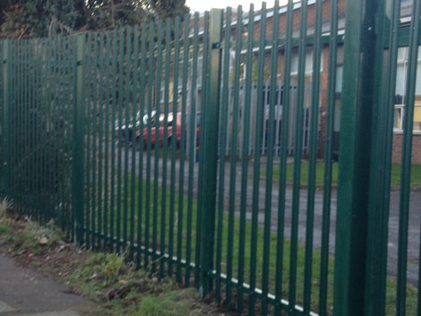 Security fencing installation Hampshire