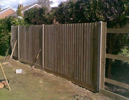 strong wooden Fences in Basingstoke