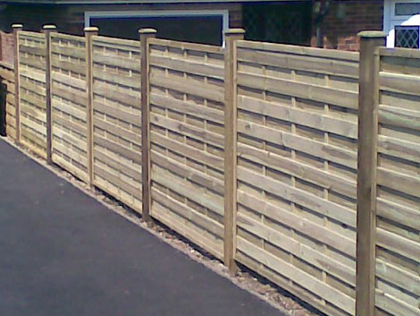 Fence installation in Basingstoke