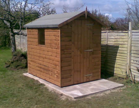 Shed installation in Basingstoke