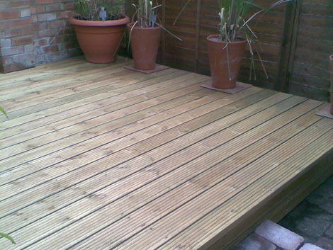 Decking installation in Basingstoke