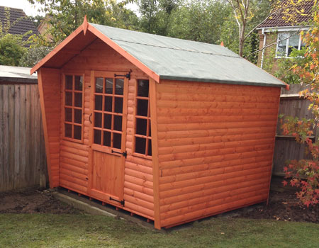 gardne sheds built in Basingstoke